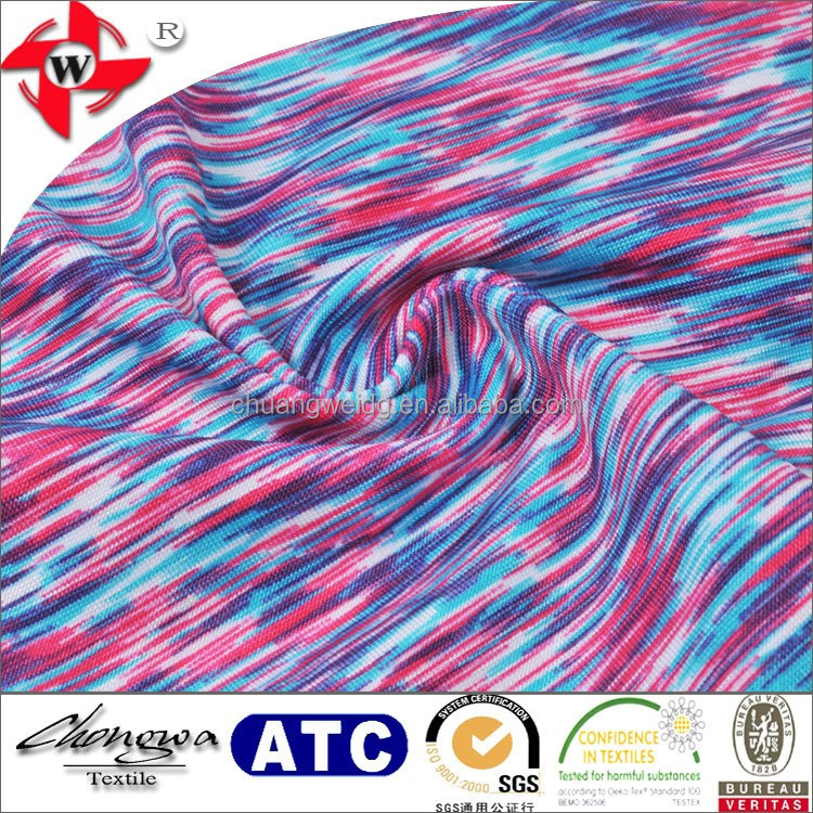 chuangwei textile newest printed lycra strech fabric for underwear