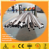 WOW!!!6063 thick wall aluminum pipe, china top ten selling products aluminum tube OEM triangle round square shaped tubes