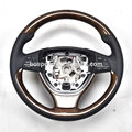 Customized Peach Wooden Steering Wheel Wood Steering Wheel For BMW 5 Series