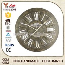 Best Quality Fancy Iron Long Shaft Advertising Wall Clock Movement With Hands