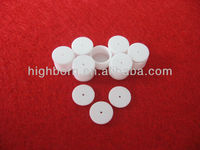 small Thermal Analysis alumina ceramic crucible with lid cap
