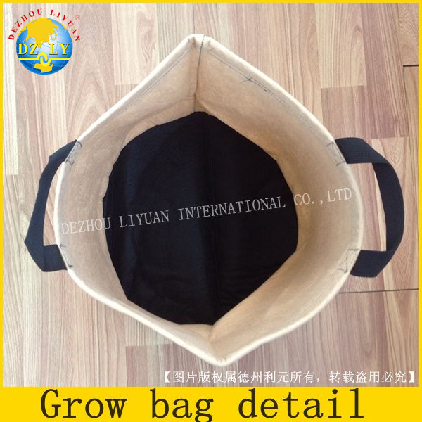1 / 2 / 3 / 5 / 7 / 10 / 15 / 20 / 25 / 30 gallon Plant root container protection non-woven fabric vegetables grow bags