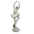 resin woman ballet figurine