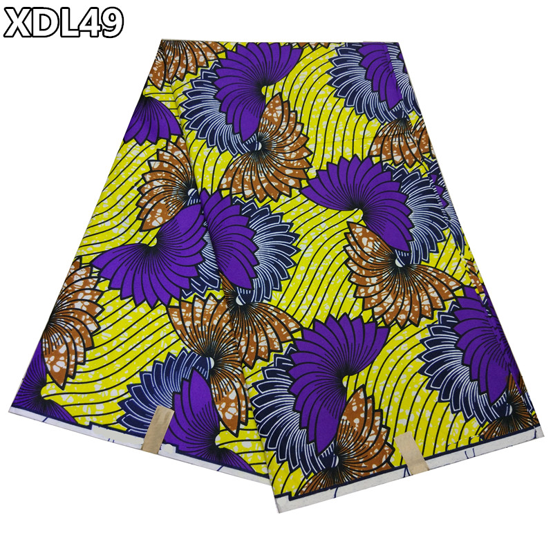 2017 new pattern wholesale african wax prints fabric wax soso 100% <strong>polyester</strong> 6yard XDL49