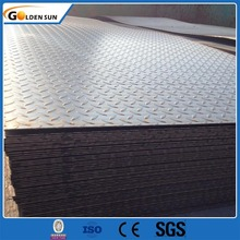 Hot Rolled Mild Iron checkered Plate Mill Certificated for steel checkered plate