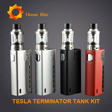 New Arrived E-cigarette Teslacigs Terminator with cool appearance chemical vapor deposition free sample