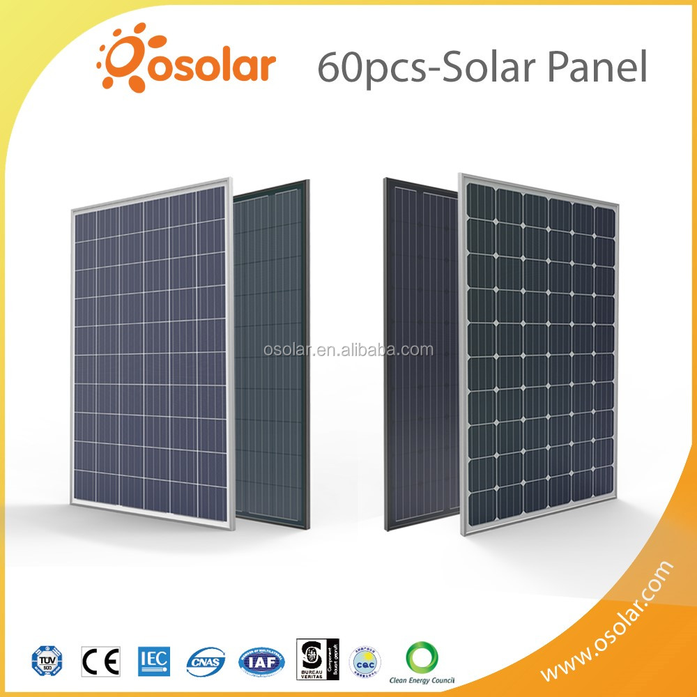 price solar power photovoltaic 270w poly and 280w mono solar panel