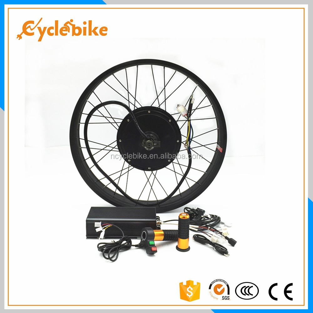 e bike 5000w conversion kit for electric fat bike