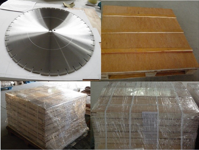 800mm Diamond Natural Stone Cutting Saw Blade Manufactures with Double U Segment