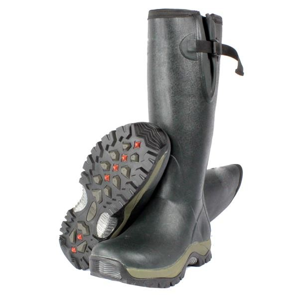 Mens Wellington Neoprene Rubber Muck Boot