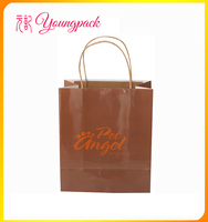 Cheap Customized Recycled Paper Bag with Handle