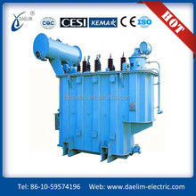 High reliability three phase 35KV 2500kva oil immersed power transformer