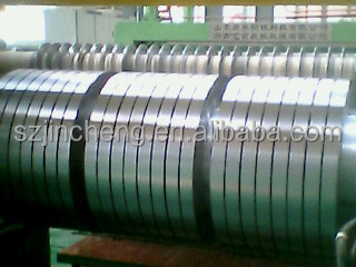 Slitting dx51d z275 galvanized steel strip/ iron sheet rolls / prime hot-dipped galvanized steel coil