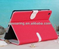 For ipad mini 2 Designed Credit card leather case pouch