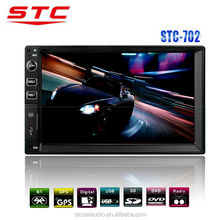 7 inch TFT Touch Screen Double Din MP5 with AMFM Radio Support Rearview Function STC-702