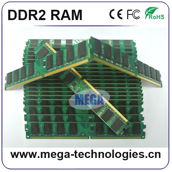 Original chips 1GB 2GB 4GB PC 800mhz LONG DIMM DDR2 memory module