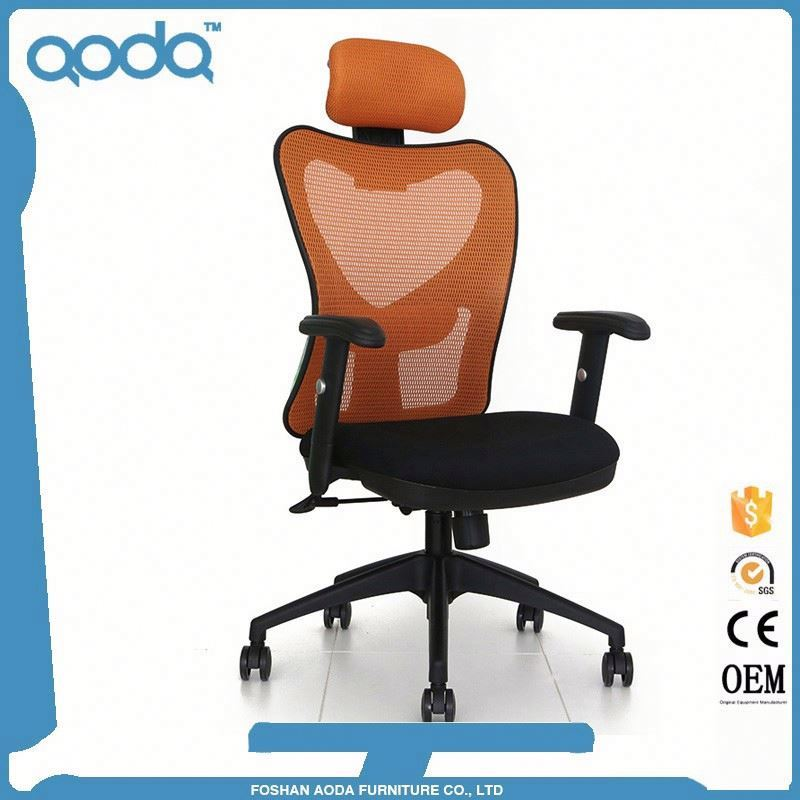 Cheap good price high end office chairs mesh chair with headrest