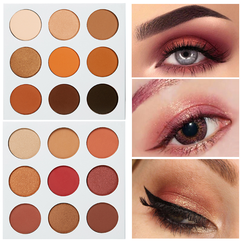 veronni Private label Professional eye shadow 9 colors eyeshadow palette