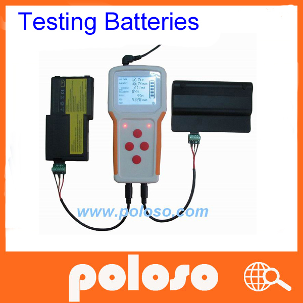 laptop battery tester with battery monitoring system