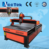 high precision 3d cnc wood lathe 1224 for wood, MDF, acrylic, stone, aluminum made in china/cnc router machine/cnc router kit
