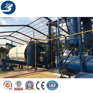 Cost of plastic recycling machine Car tires recycling machine pyrolysising oil