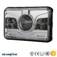 "4""X6"" Inch Car Universal 30W 1573LM With CREE Chips LED Headlight Headlamp DOT Approved"