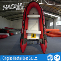 2015 NEW 4.3m aluminum floor inflatable boat with CE