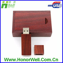 custom bamboo usb wooden promotion gift nature wooden Thumb Drive usb flash drive key chain