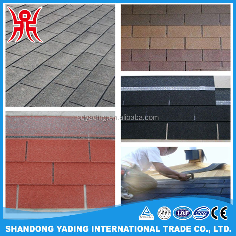 High quality andlow price asphalt shingle for roof