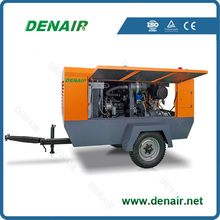 screw portable 70kw air compressor for mining