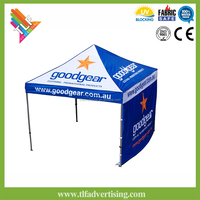 Outdoor advertising gazebo canopy 3x3 diy roof top tent/diy awning