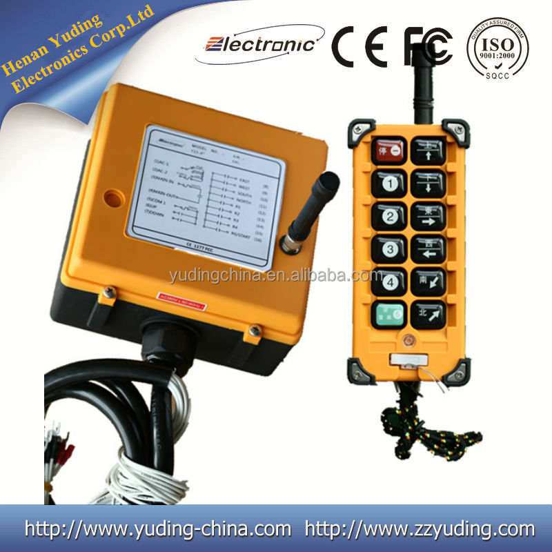 Henan Yuding F23-A++ 315mhz rf wireless transmitter and receiver
