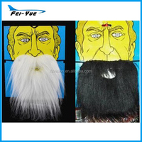 wholesale Party Funny Big Black and White Mustache party big fake beard