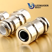 LEINUOER male/female threaded brass union pipe fittings wiring gland for cable