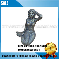 Mermaid Sculpture Decorative Water Fountains