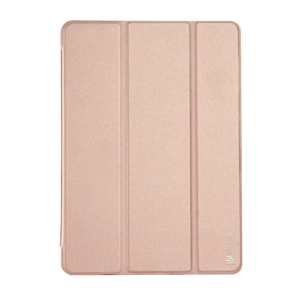 Smart Sleep function PU leather flip case for ipad air 2 Skin pro series 3 fold holder case for ipad air 2 MT-6144