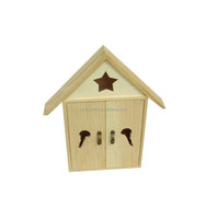 Wholesale wall hanging decorative wooden key boxes