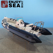 Factory direct Supply RIB470 inflatable fiberglass boats with Certification