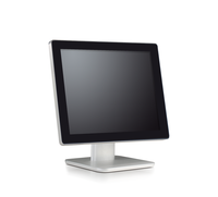 no bezel 17 inch dual touch PCAP monitor ,desktop, wall mounted, housing, banking,gaming