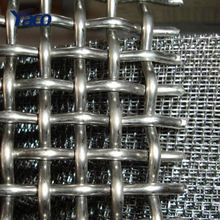 China Factory Supply 304 306 316 Low Carbon Stainless Steel Crimped Wire Mesh