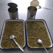 Sunny Field canned Green peas in can