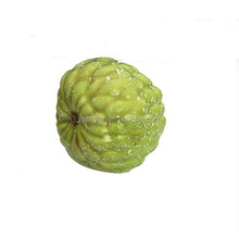 70mm artificial styrofoam fruit fake guava for home wall decoration and DIY