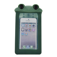 wholesale swimming silicone waterproof cell phone bag