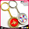 Free Sample Cheap Keyring Wholesale Promotional Custom Metal Keyring
