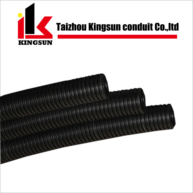 PE plastic corrugated flexible cable protection hose