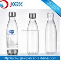 Compact Low Price LFGB/FDA/CA65/BPA Free/SGS Crystal Coke Bottle