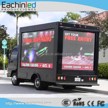 full color outdoor waterproofing advertisements display P8 LED digital signage for advertise on trucks