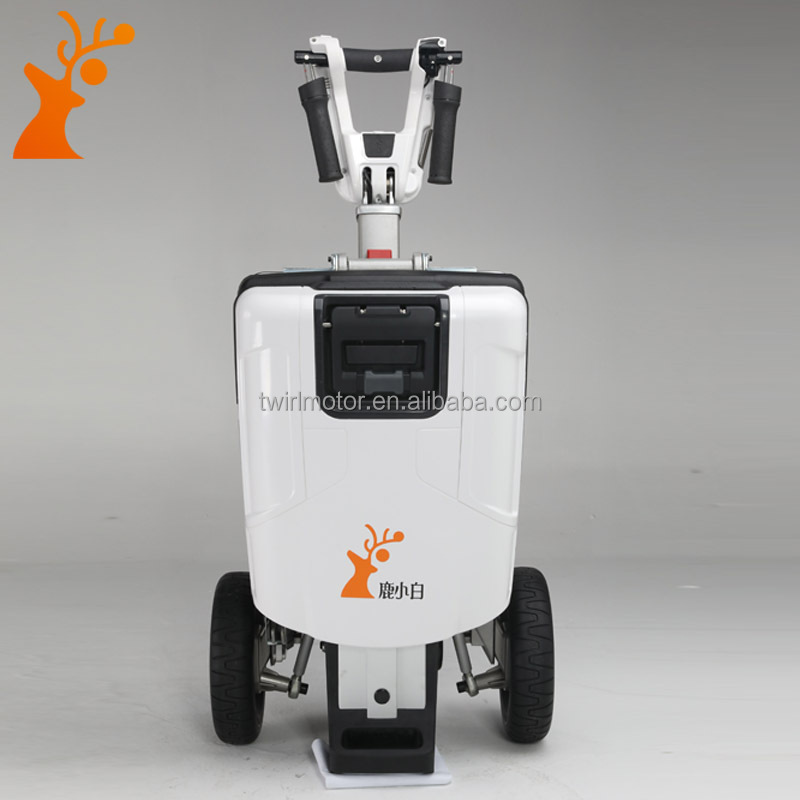 wholesale China factory white Transformable foldable tricycle <strong>electric</strong> scooter