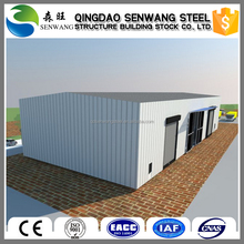 Steel structure car shed with design