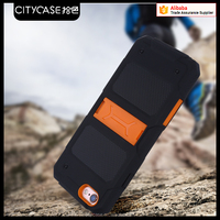 city&case shockproof combo phone case with handle for iPhone6 6s